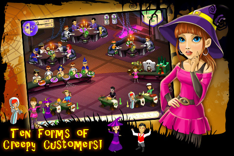 Screenshot Amelie's Cafe: Halloween Lite